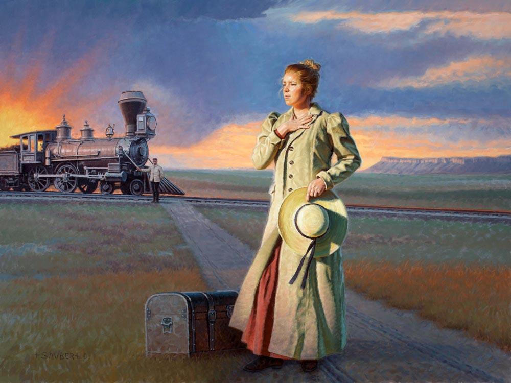 Anna on the Empty Prairie