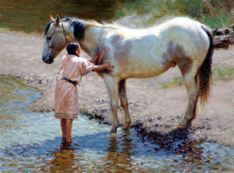 Cooling the Buffalo Horse