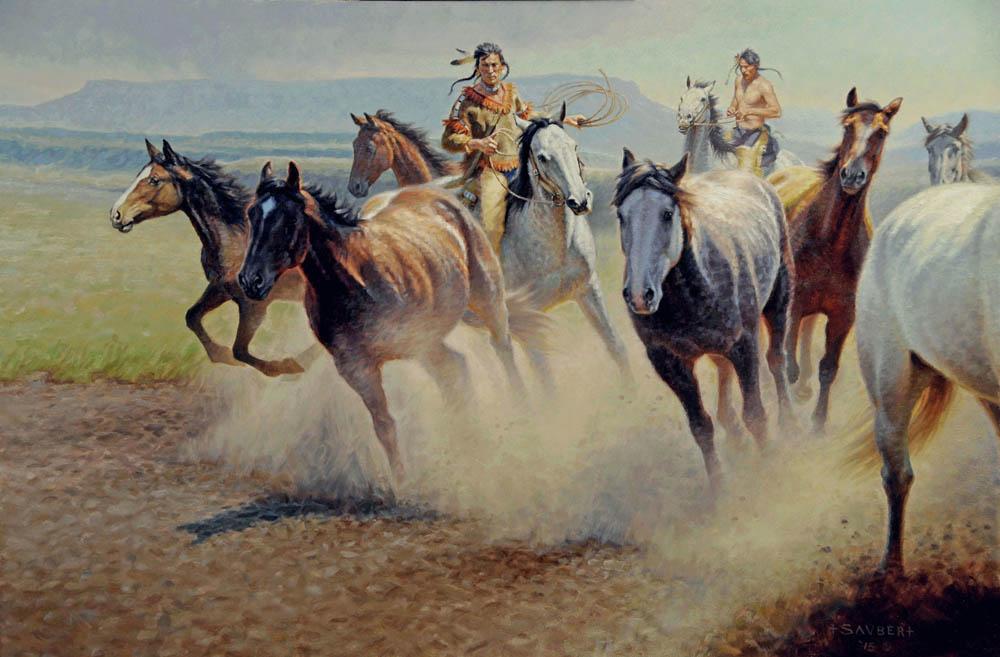 Driving Stolen Horses