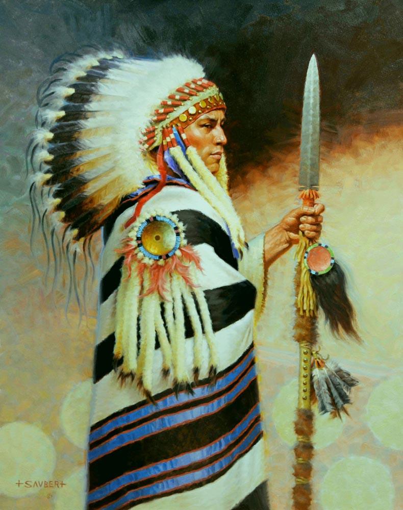 Three Suns Chief Blanket