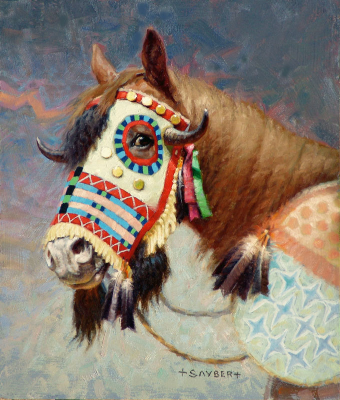 Thunder Buffalo Horse Mask